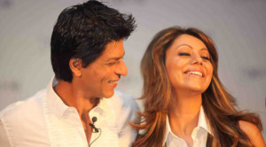 AbRam and Gauri Khan in HNY?