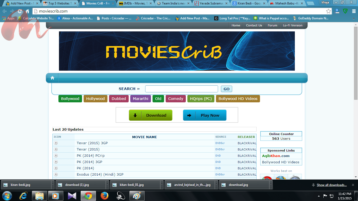 Top 5 Websites To Download Full Movies Absolutely Free
