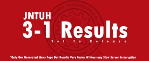 JNTU Hyderabad 3-1 R09 Reg/Supply Results Dec 2014
