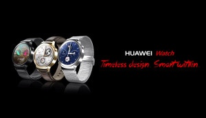 Here's the First Look of Huawei Android Watch