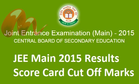 JEE-Main-2015-Results-Cut-Off-Marks