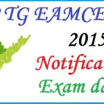 EAMCET 2015 Application Form  AP & Telangana States: