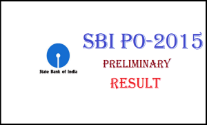 Check SBI PO Associate Clerk Result 2015 Online