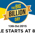 Flipkart Big Billion Day Sale Offer, Coupons, Discounts 2015