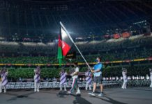 2 Afghan athletes arrive in Tokyo to compete in Paralympics